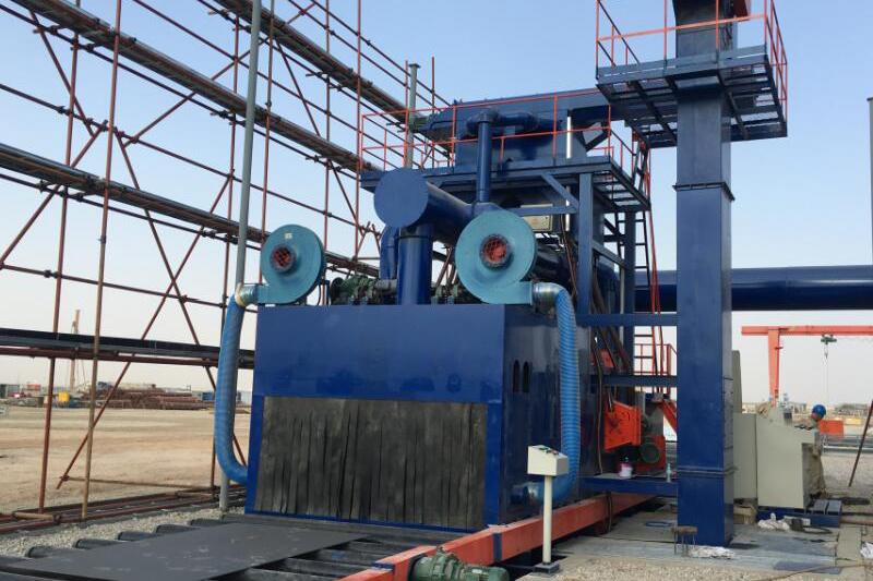 钢板预处理线-中石油驻伊拉克哈法亚项目